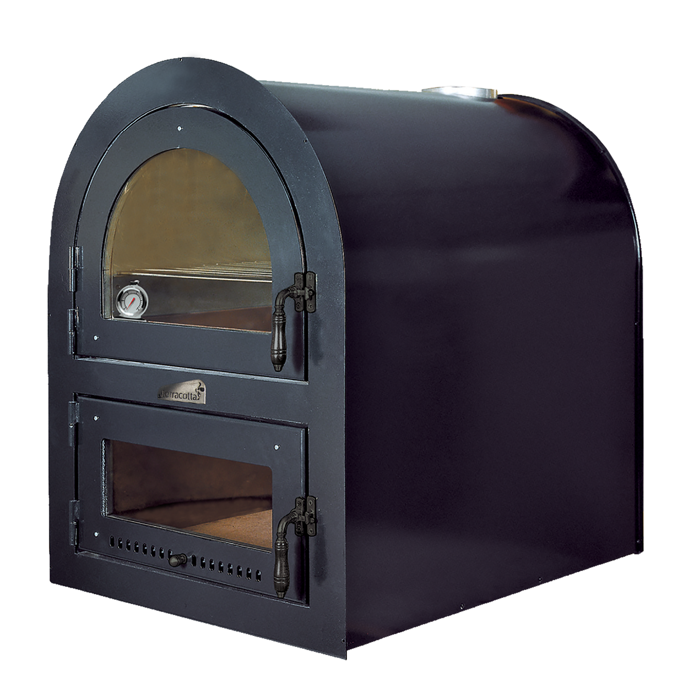 Forno A Legna Immagini ready-to-use double wood oven certified for the preparation of food